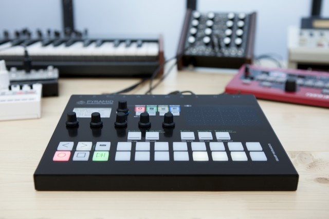 Pyramid is High-End MIDI, Analog Sequencer Gear with Effects [Gallery] - Create Digital Music