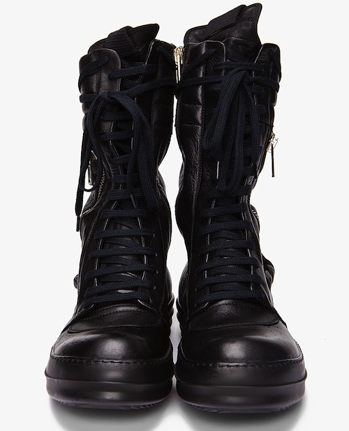 Seal in G-Star Arc Jeans and Rick Owens Cargo Basket Sneaker Boots « UpscaleHype