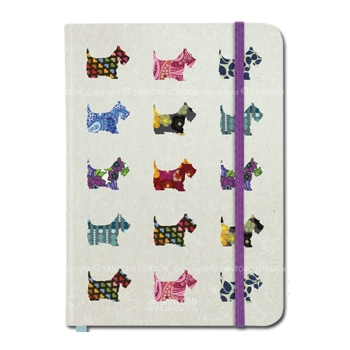 Scottie Dogs Hardcover Note Book Santoro - For Her - Gorgeous Gifts