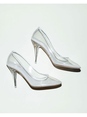 Marc Jacobs Cinderella Glass Slipper - New Marc Jacob Transparent Pump