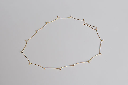 Light Weight Bike Chain Necklace (Melissa Joy Manning) - SOURCE objects
