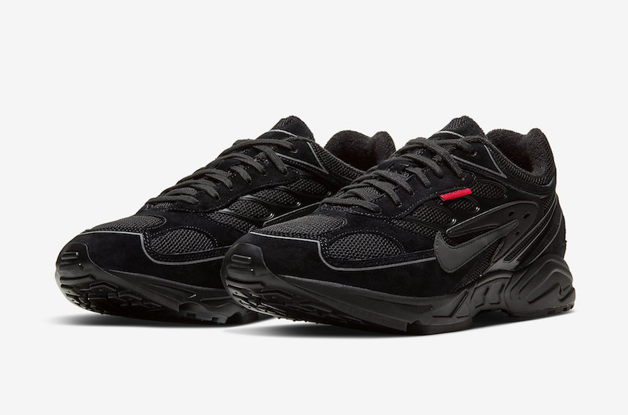Nike Air Ghost Racer Black Habanero Red CW8621-001 Release Date - SBD