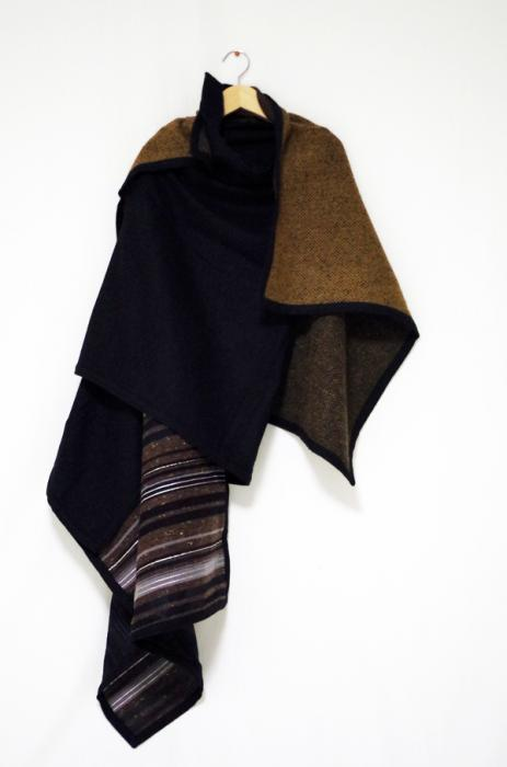 ffiXXed -COLLECTIVE BLANKET SCARF - POST PARTY DEPRESSION