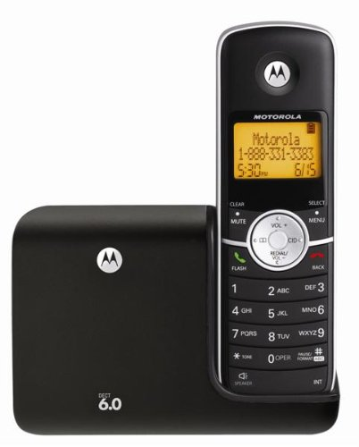Amazon.co.jp: MOTOROLA L301 DECT 6.0 Cordless Phone with Caller ID (1 Handset System) 【並行輸入】: 家電・カメラ