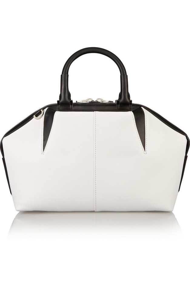 Alexander Wang|Emile Doctor two-tone leather tote|NET-A-PORTER.COM