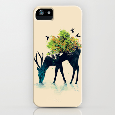 Watering (A Life Into Itself) iPhone Case by Budi Satria Kwan | Society6