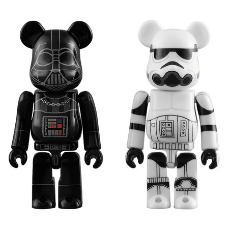 BE@RBRICK DARTH VADER™ & STORMTROOPER™ 2 PACK