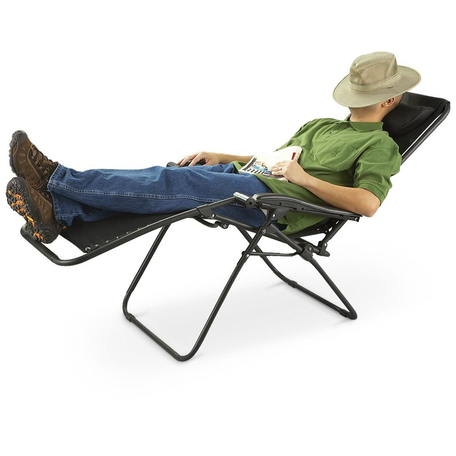 Guide Gear Zero Gravity Reclining Lounge Chair - 198420, Chairs at Sportsman's Guide