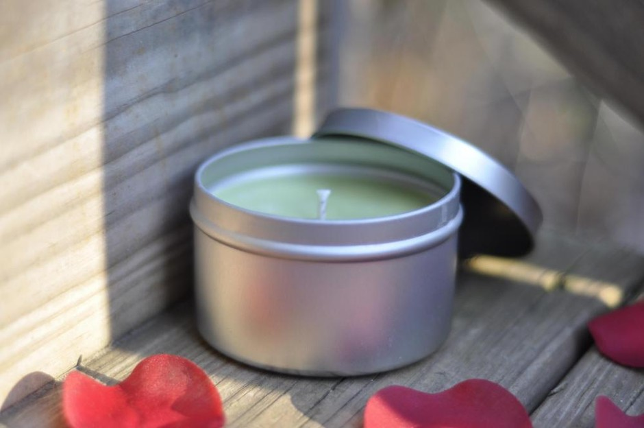 Rosemary Soy Candle 8 Ounce Tin, Just In Time For Spring | Luulla
