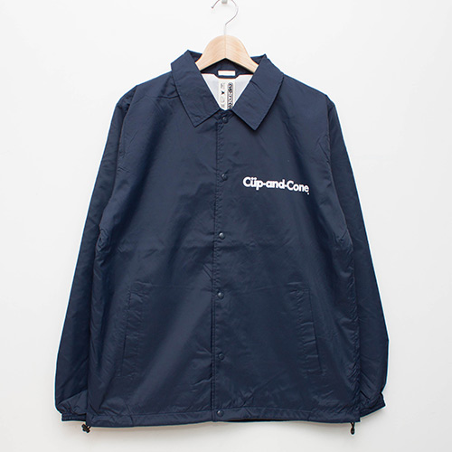 Ice Cream Coaches Jacket - Navy - cup and cone WEB STORE