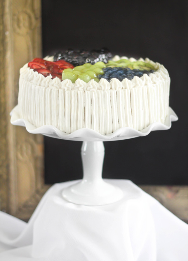 Sprinkle Bakes: White Wedding Cake and Swiss Meringue Buttercream