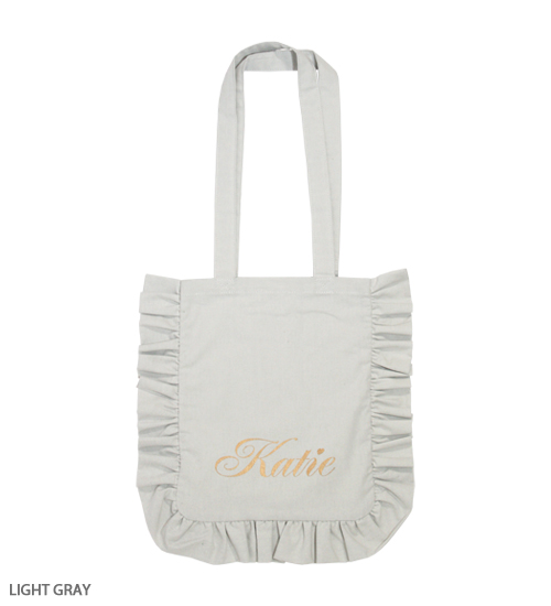 BAG - FRILL logo tote - Katie Official Web Store