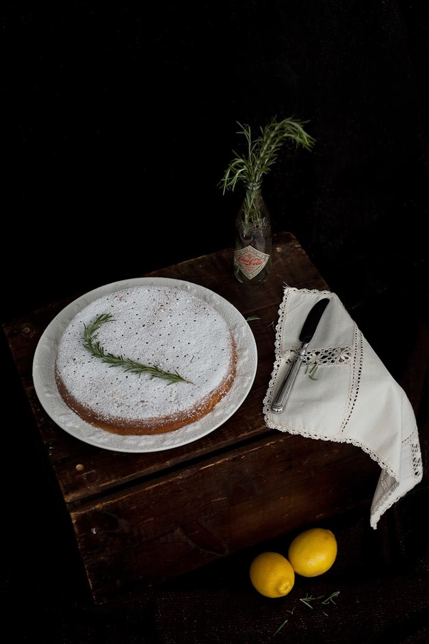 three little halves: Things That Matter + Lemon, Rosemary & Olive Oil Semolina Cake