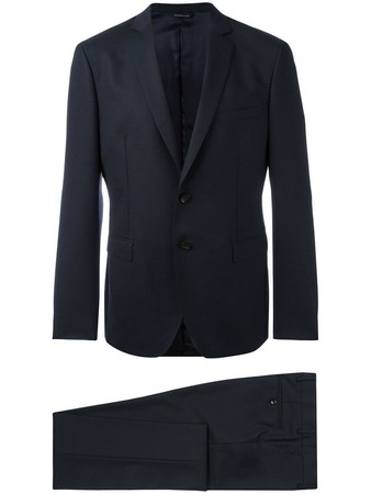fitted two piece suit