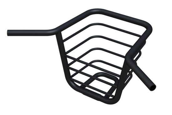 goodmorning technology: 'the bike porter', integrated basket and handlebar