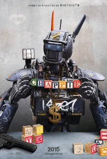 Chappie Poster Shows off Building Blocks and Bling for New Sci-Fi Comedy