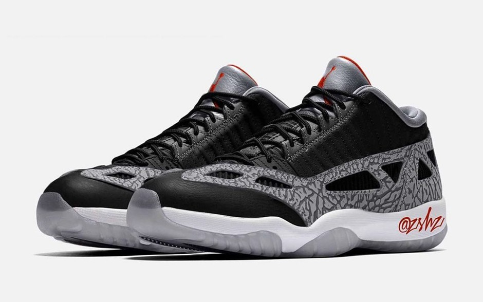 """Air Jordan 11 Low IE """"Black Cement"""" Releasing Summer 2020 - HOUSE OF HEAT 