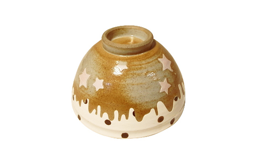 Sand Scratch (star) 茶碗   TALKY_collection