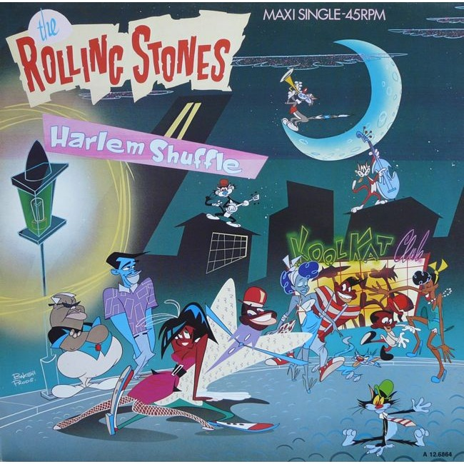THE ROLLING STONES harlem shuffle, 12 INCH 45 RPM for sale on CDandLP.com