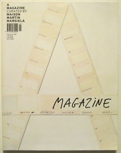 A MAGAZINE #1 Curated By MAISON MARTIN MARGIELA 2004 Modern Fashion Design RARE | eBay