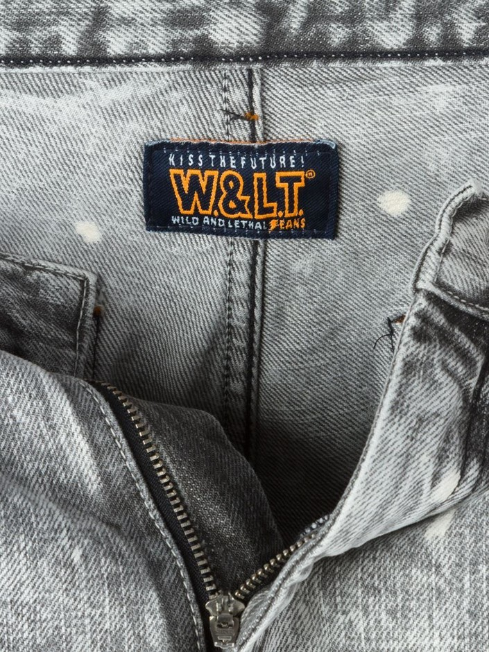 Walter Van Beirendonck Vintage Wild And Lethal Trash デニムショートパンツ - House Of Liza - Farfetch.com