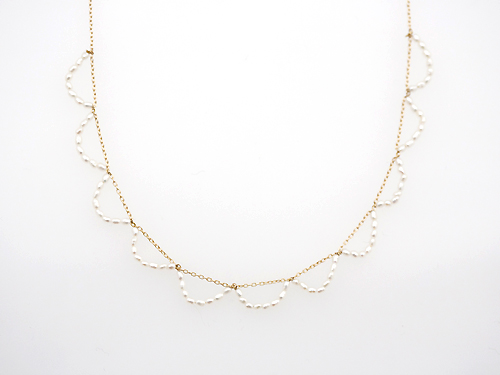 Ripples short necklace(Rubus.) - GALERIE MAISONIE