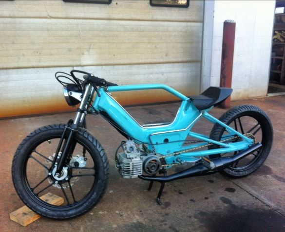 Re: Custom stretched Puch Maxi (pic heavy)