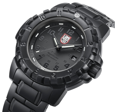 Luminox BlackOut EVO F-117 Nighthawk Stealth | World Watch Review