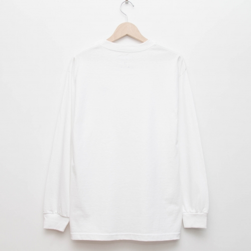 Basic L/S - White - cup and cone WEB STORE