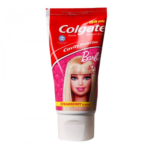 Colgate Barbie Cavity Protection Strawberry Flavor Toothpaste for Kids | RedMart