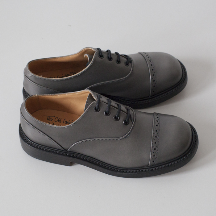 Quilp Shoes / M7401 Oxford Shoe / Grey Calf - Store - nonsect radical