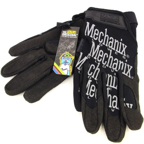 BLUE LUG / *MECHANIX* the original glove BL special (black/reflector)