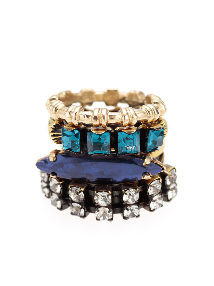 IOSSELLIANI 4Stacking Rings|IOSSELLIANI | Shops(しょっぷす) | H.P.FRANCE
