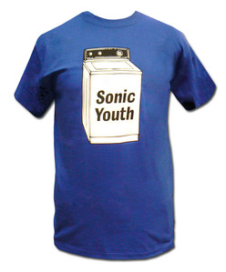 Sonic Youth Merchandise Store - Sonic Youth Clothing Washing Machine T-shirt