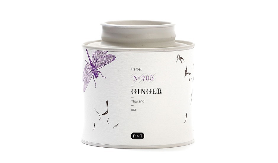 Ginger Herbal Tea by Paper & Tea | MONOQI