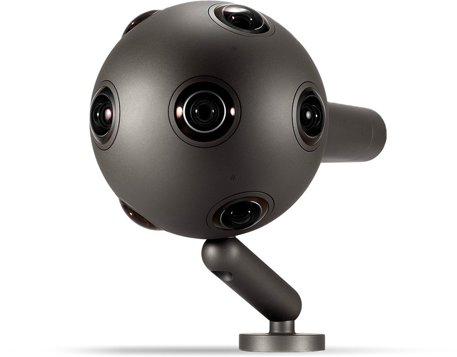 Nokia OZO | Virtual Reality Camera with 360-degree audio and video capture