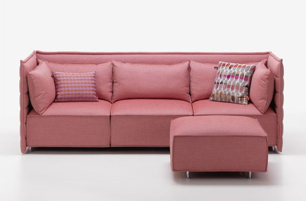 Vitra's Alcove Plume sofa combines comfort with elegance | Home Crux