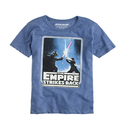 Kids' Star Wars™ for crewcuts glow-in-the-dark Empire Strikes Back tee : glow-in-the-dark tees | J.Crew