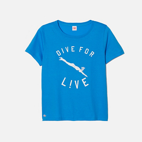 Lacoste Live printed tee-shirt