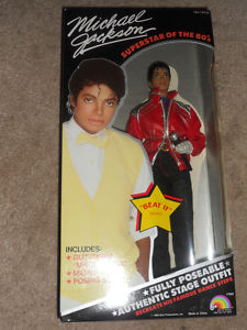 "1984 LJN Michael Jackson "" Beat IT "" DOLL MIB 