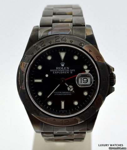 Rolex EXPLORER II 16570 PROTOTYPE F.A.D. 1 DLC PVD CAMOUFLAGE for $10,392 for sale from a Trusted Seller on Chrono24