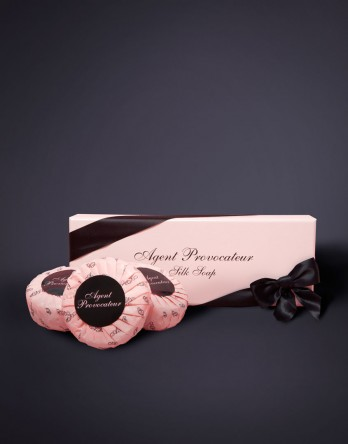 View All Beauty by Agent Provocateur - Silk Soap Boxed Set