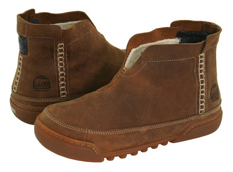Guy Garb: Fall Style - Sorel Bota Bag '09 is Your Perfect Ugg Alternative - GentDaily