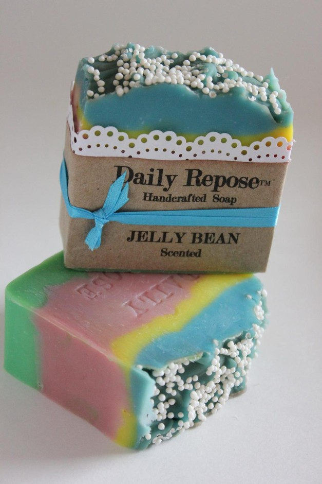 JELLY BEAN Soap Scented EASTER Vegan Cold Process Cp | Luulla
