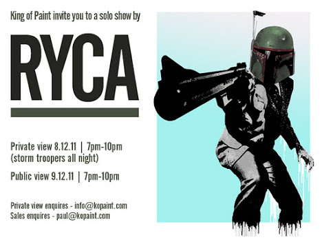 Invisiblemadevisible — UK Street Art & Culture: RYCA Exhibition at King Of Paint