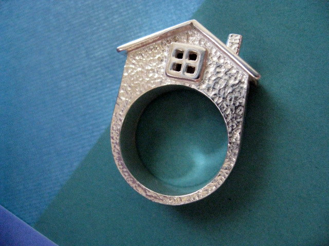 House Ring by JDavisStudio on Etsy