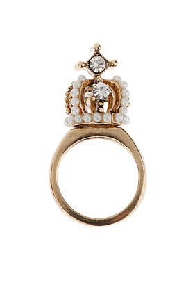 Jubilee Crown Ring - Jubilee - Collections - Topshop USA