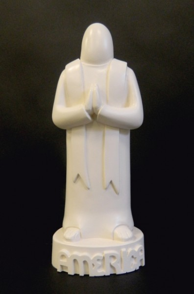 The Priest Statue by Mark 'Gonz' Gonzales - Saatchi Store