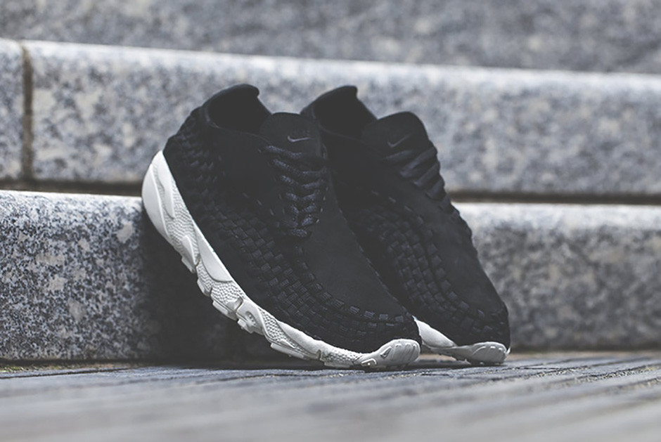 NikeLab Air Footscape Woven Black | SneakerNews.com