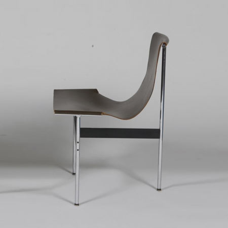 T chairs (model no. 3LC), pair | Los Angeles Modern Auctions
